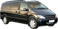 Tours of Nottingham and the UK. Chauffeur driven, top of the Range Mercedes Viano people carrier (MPV)