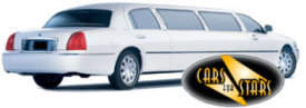Limo Hire Baxley - Cars for Stars (Nottingham) offering white, silver, black and vanilla white limos for hire