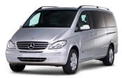 Chauffeur driven Mercedes Viano people carrier - Up to 7 passengers in comfort, from Cars for Stars (Nottingham) - Airport Transfer Services
